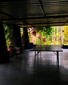 Chikmagalur resort portico